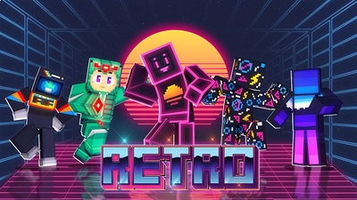 Retro on the Minecraft Marketplace by Dig Down Studios