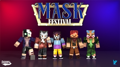 Mask Festival on the Minecraft Marketplace by Pathway Studios