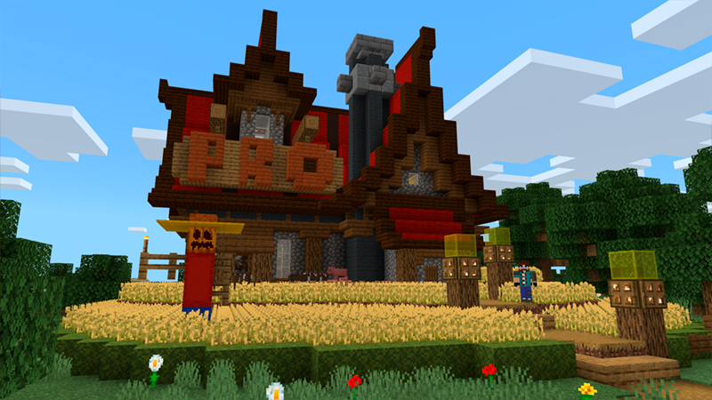 Noob Pro God Houses by In Mine