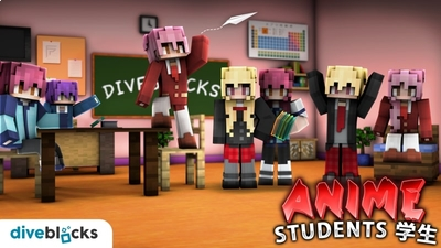 Anime Students on the Minecraft Marketplace by Diveblocks