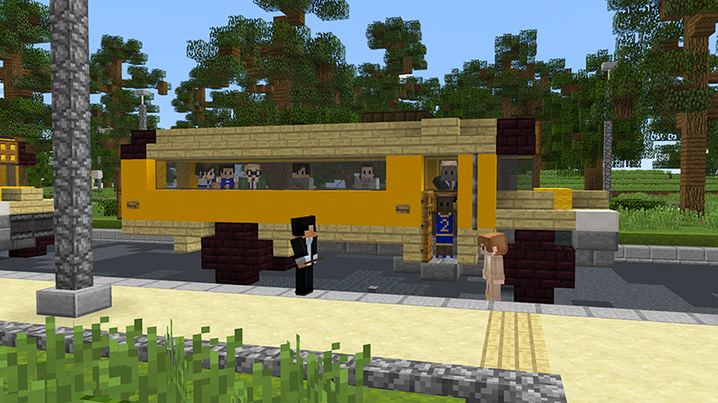 Mineville High School Roleplay on the Minecraft Marketplace by InPvP