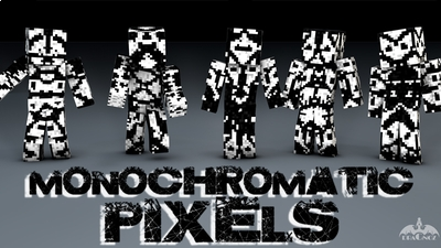 Monochromatic Pixels on the Minecraft Marketplace by Dragnoz