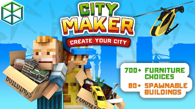 City Maker on the Minecraft Marketplace by Blockception