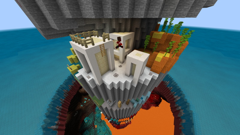 Parkour Spiral 2 on the Minecraft Marketplace by Hielke Maps