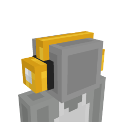 Lucky Block Headphones on the Minecraft Marketplace by BLOCKLAB Studios