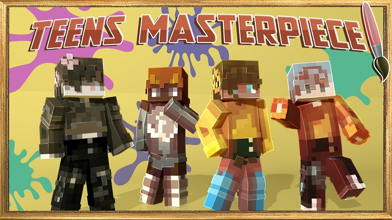 Teens Masterpiece on the Minecraft Marketplace by Nitric Concepts