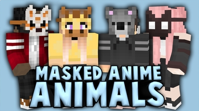 Masked Anime Animals on the Minecraft Marketplace by Cynosia