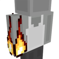 Flame Fist Right on the Minecraft Marketplace by The World Foundry