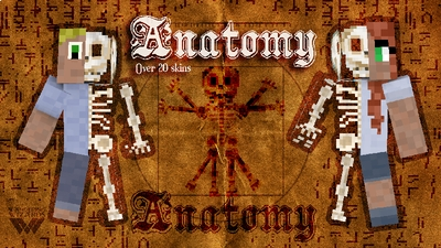 Anatomy skinpack on the Minecraft Marketplace by Wandering Wizards