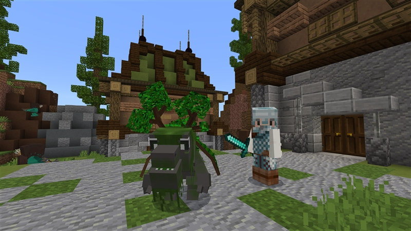 Cute Dragons on the Minecraft Marketplace by Kubo Studios