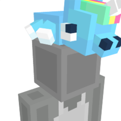 Unicorn Plushie on the Minecraft Marketplace by NovaEGG