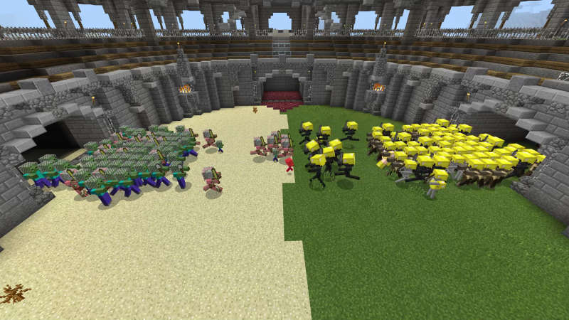 Monster Battle Arena on the Minecraft Marketplace by Jigarbov Productions
