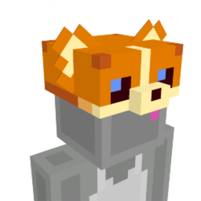 Doggie Hat on the Minecraft Marketplace by Cyclone