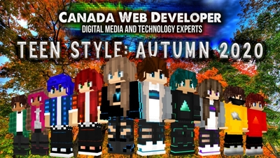 Teen Style Autumn 2020 on the Minecraft Marketplace by CanadaWebDeveloper