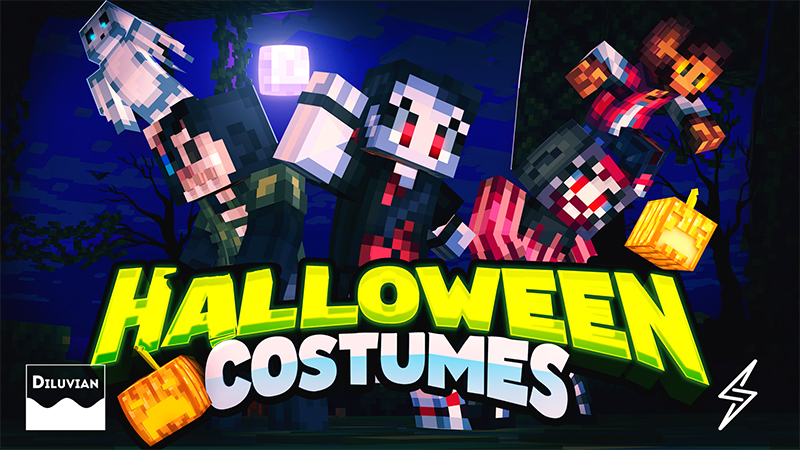Halloween Costumes on the Minecraft Marketplace by Diluvian