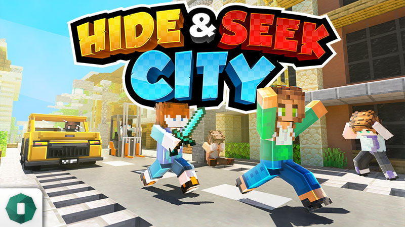 Hide and Seek City on the Minecraft Marketplace by Octovon