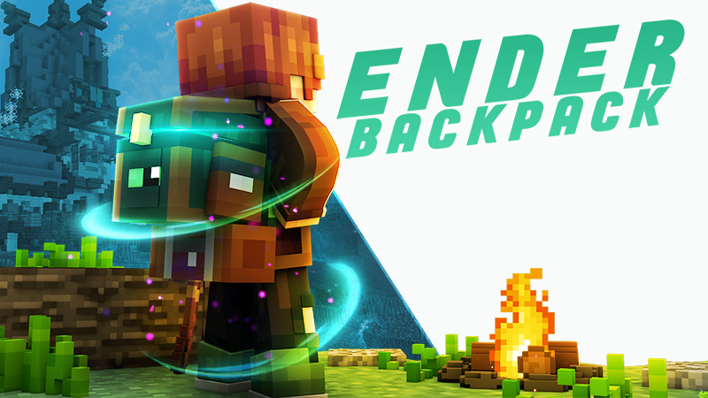 Ender Backpack on the Minecraft Marketplace by Glowfischdesigns