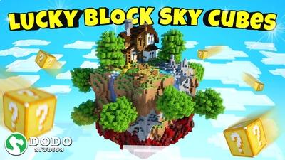 Lucky Block Sky Cubes on the Minecraft Marketplace by Dodo Studios