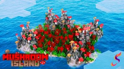 Mushroom Island on the Minecraft Marketplace by Fall Studios