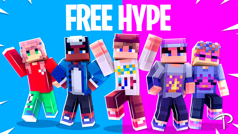 Free Hype on the Minecraft Marketplace by Pickaxe Studios