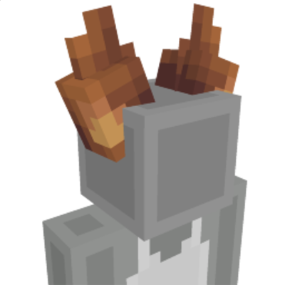 Squirrel Ears on the Minecraft Marketplace by Ninja Squirrel Gaming