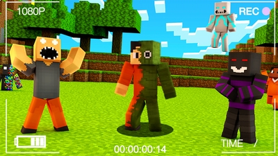 SCARY MONSTER Skin Pack on the Minecraft Marketplace by Pickaxe Studios
