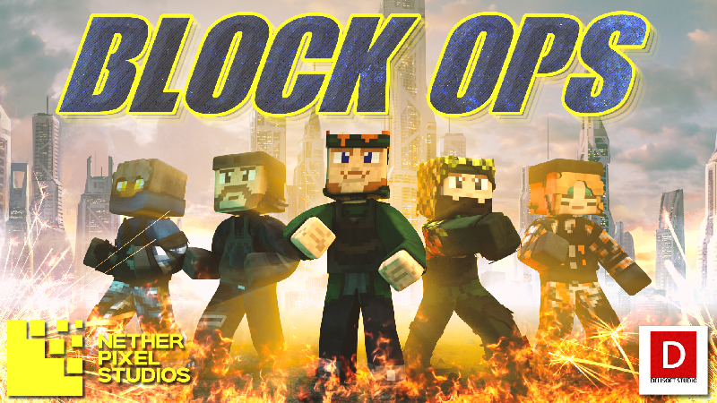 Block Ops on the Minecraft Marketplace by Netherpixel