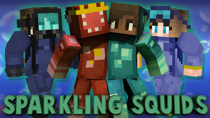 Sparkling Squids on the Minecraft Marketplace by Cynosia