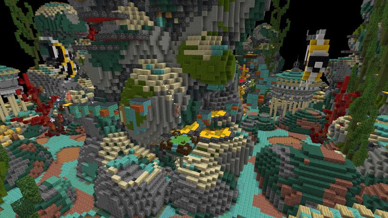 Biomes Explosion by Black Arts Studio
