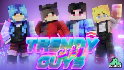 Trendy City Guys on the Minecraft Marketplace by In Mine