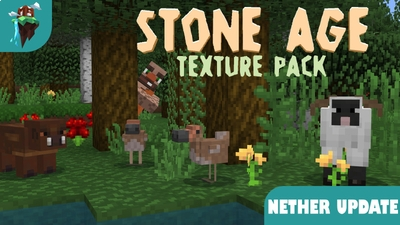 Stone Age Texture Pack on the Minecraft Marketplace by Polymaps