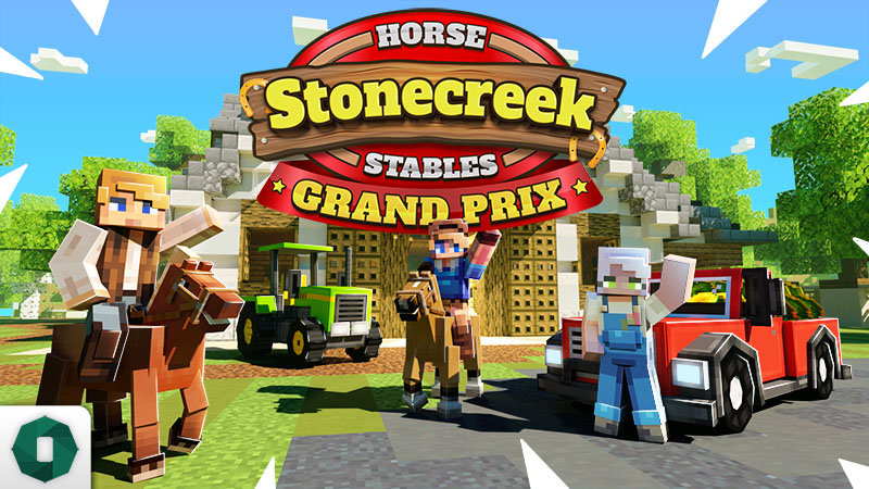 Stonecreek Stables Grand Prix on the Minecraft Marketplace by Octovon