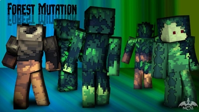Forest Mutation on the Minecraft Marketplace by Dragnoz