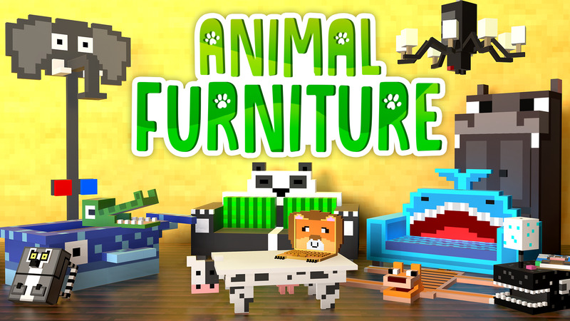 Animal Furniture on the Minecraft Marketplace by House of How
