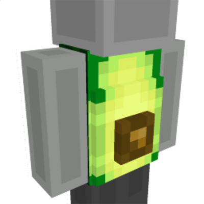 Avocado Suit on the Minecraft Marketplace by UnderBlocks Studios