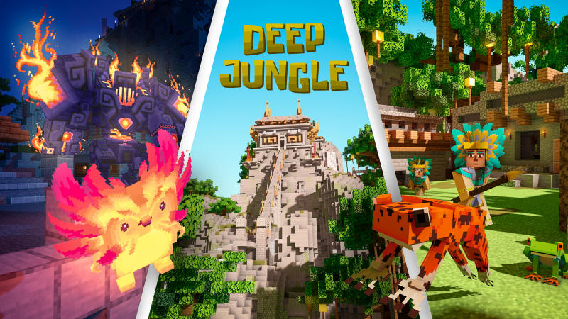 Deep Jungle on the Minecraft Marketplace by BLOCKLAB Studios