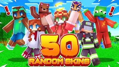 50 Random Skins on the Minecraft Marketplace by Cynosia