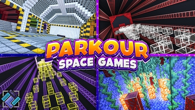 Parkour Space Games on the Minecraft Marketplace by PixelOneUp