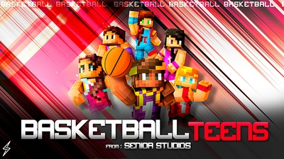 Free Choice Basketball Teens on the Minecraft Marketplace by Senior Studios