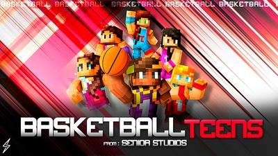 Free Choice Basketball Teens on the Minecraft Marketplace by Senior Studios