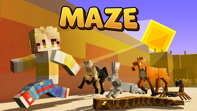 Maze on the Minecraft Marketplace by BBB Studios