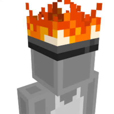 Fire Hat on the Minecraft Marketplace by BLOCKLAB Studios