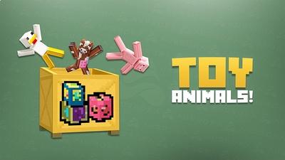 Toy Animals on the Minecraft Marketplace by Aurrora