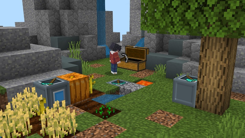 Skyblock Machines on the Minecraft Marketplace by BBB Studios