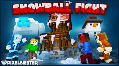 Snowball Fight on the Minecraft Marketplace by Pixelbiester