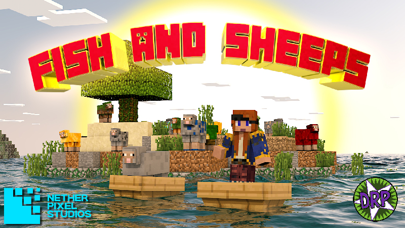 Fish and Sheeps on the Minecraft Marketplace by Netherpixel