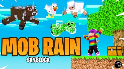 Skyblock MOB RAIN on the Minecraft Marketplace by Pickaxe Studios