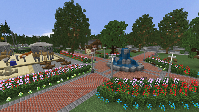 Suburbia on the Minecraft Marketplace by Project Moonboot