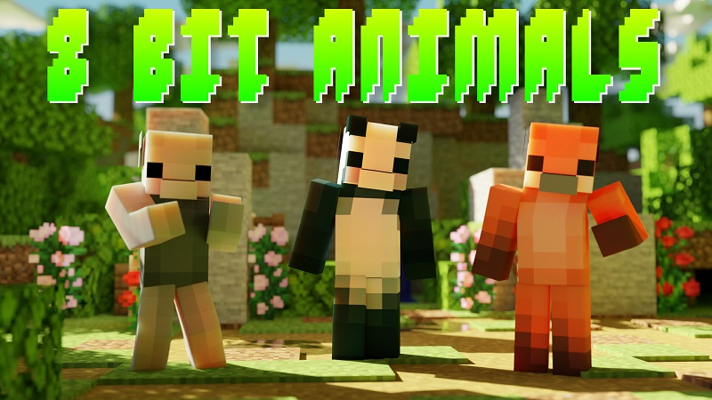 8 Bit Animals on the Minecraft Marketplace by Nitric Concepts
