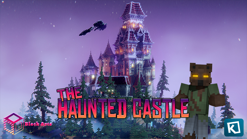 The Haunted Castle on the Minecraft Marketplace by Black Arts Studios